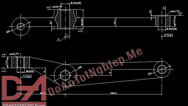 Thiết kế quy trình gia công chi tiết đòn quay gạt số C1