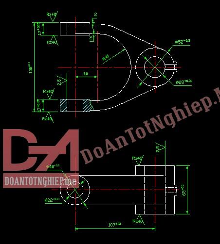 Thiết kế quy trình gia công chi tiết càng C9