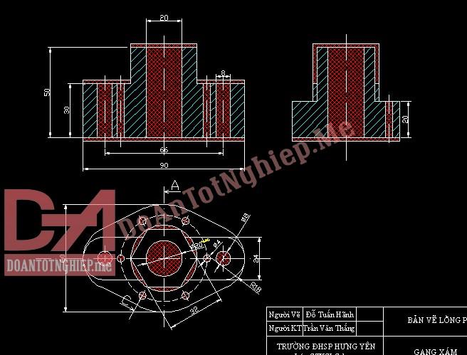 Thiết kế quy trình gia công chi tiết H32
