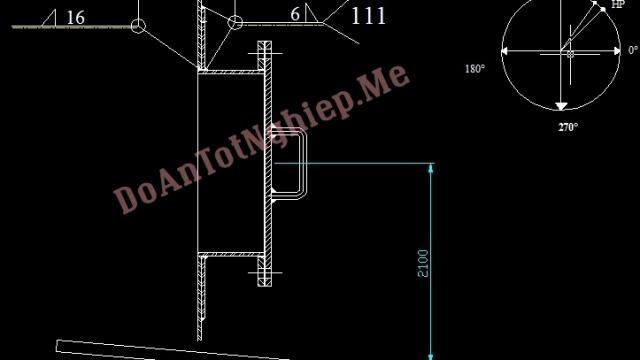 Gia công, Lắp ghép, hàn đáy, tầng 1 và 2 của bồn lên men TK 2201