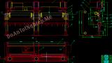 Thiết kế máy nhấn thuỷ lực 600T-6M