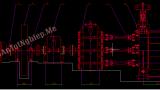Thiết kế máy cán thép vằn. Kích thước của sản phẩm thép vằn phi 14