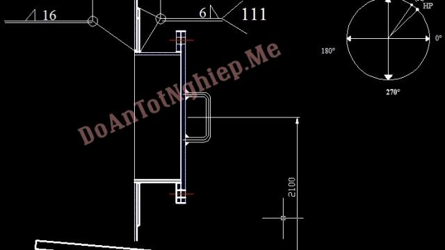 Gia công, Lắp ghép, hàn đáy, tầng 1,2 của bồn lên men TK 3106