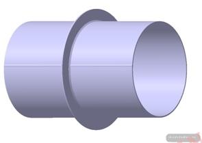 Quy trình công nghệ hàn kết: Trục nối của đường ống dẫn nước xả của nhà máy thuỷ điện BuônKuốp