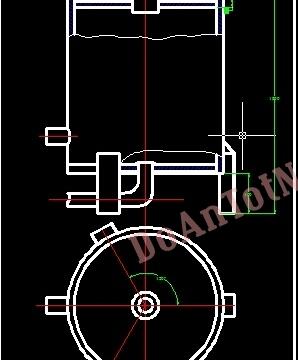 Thiết kế vỏ bộ phận điều chỉnh để giữ cho áp suất hơi trong nồi hơi không đổi, áp suất làm viêc là 5at