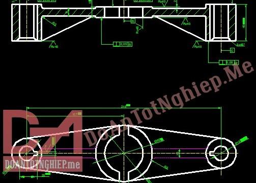 Thiết kế quy trình gia công chi tiết càng gạt B4 (H11)