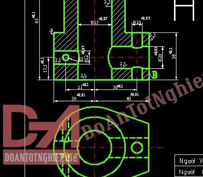 Thiết kế quy trình gia công chi tiết thân ba ngả H12
