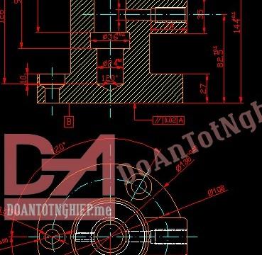 Thiết kế quy trình gia công chi tiết giá đỡ H18