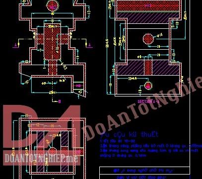 Thiết kế quy trình gia công chi tiết đế dẫn hướng H29