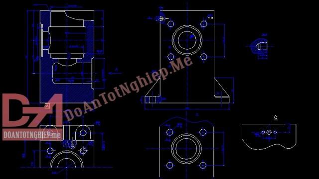 Thiết kế quy trình gia công chi tiết thân H30