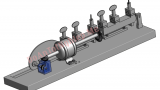 Cấu tạo và mô phỏng hoạt động máy cưa (biến thể máy đánh khóa)