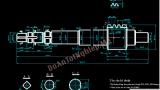 Thiết kế quy trình công nghệ gia công chi tiết trục vít máy phay lăn răng 5K310, bản vẽ số 40.240A