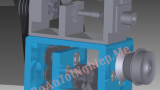 Cấu tạo và mô phỏng hoạt động máy phay 6H82