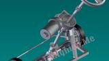 Cấu tạo và mô phỏng hoạt động hệ thống lái oto