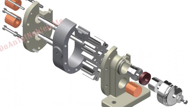 Thiết kế quy trình công nghệ gia công thân bơm dầu trục xoắn. Ứng dụng bộ công cụ solidword mô phỏng quá trình chuyển động của bơm dầu
