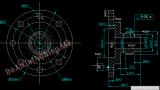 Thiết kế quy trình công nghệ gia công chi tiết Mặt bích chặn