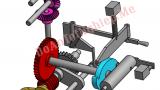 Cấu tạo và mô phỏng hoạt động cơ cấu xích hướng kính