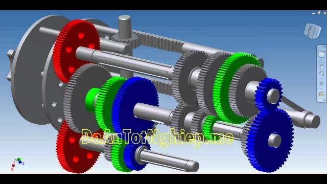 Cấu tạo và mô phỏng hoạt động cơ cấu đĩa lỗ