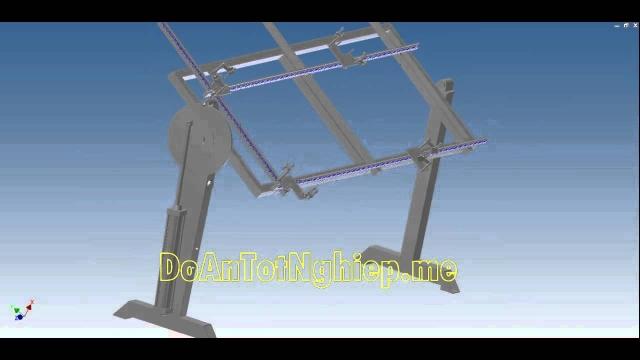 Cấu tạo và mô phỏng hoạt động đồ gá hàn vuông góc
