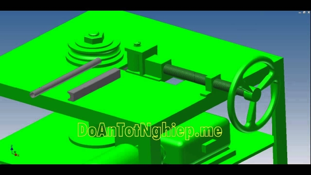 Cấu tạo và mô phỏng hoạt động máy uốn ống