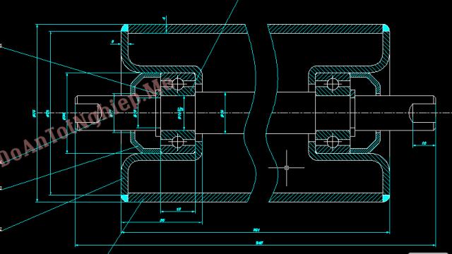 Nghiên cứu, thiết kế quy trình công nghệ chế tạo chi tiết con lăn băng tải
