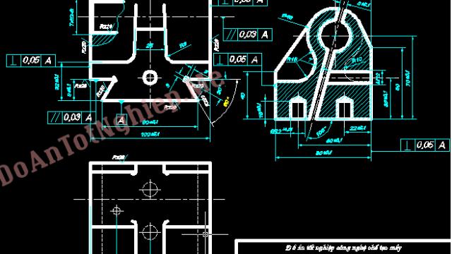 Thiết kế quy trình công nghệ gia công chi tiết đai ốc 2 nửa
