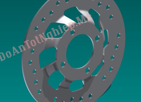 Gia công áp lực, quy trình chế tạo phanh đĩa xe máy