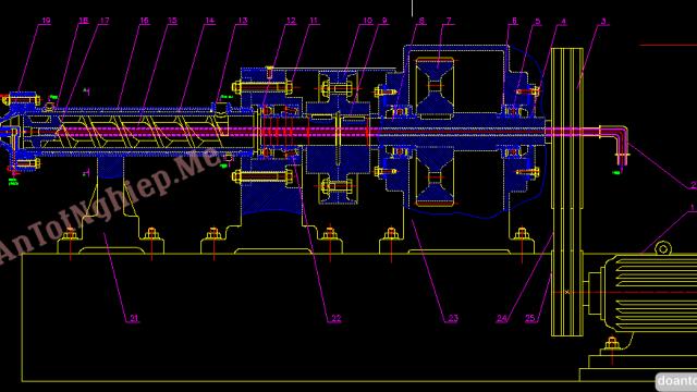Thiết kế dây chuyền sản xuất ống săm xe đạp