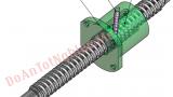 Thiết kế mô phỏng máy tiện T6M16, gia công trục vit đai ốc bi