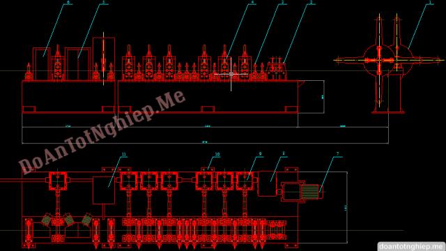 Thiết kế dây chuyền sản xuất ống Inox