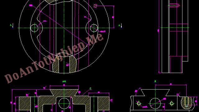 Thiết kế công nghệ gia công đế giá đỡ dao bào